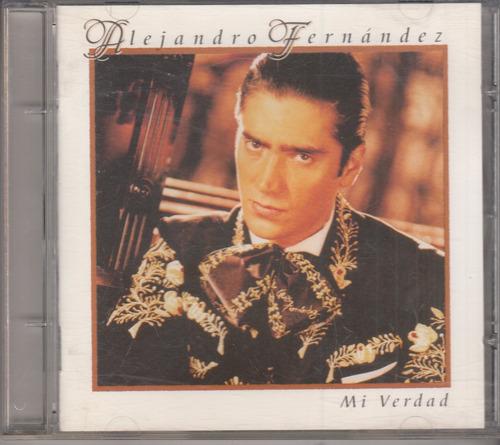 alejandro fernandez - mi verdad cd original usado