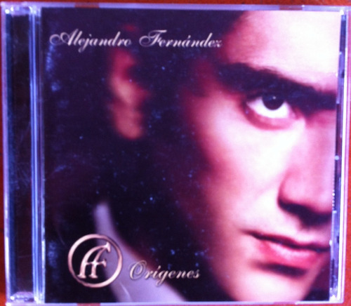 alejandro fernández. orígenes. cd original, usado