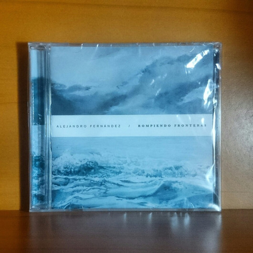 alejandro fernández rompiendo fronteras cd original nuevo