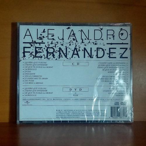 alejandro fernandez rompiendo fronteras deluxe 2 cd original