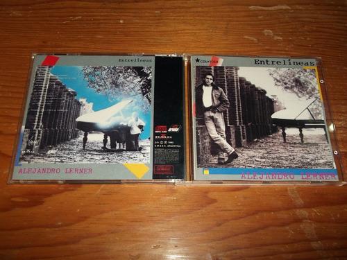 alejandro lerner - entrelineas cd nac ed 1990 mdisk