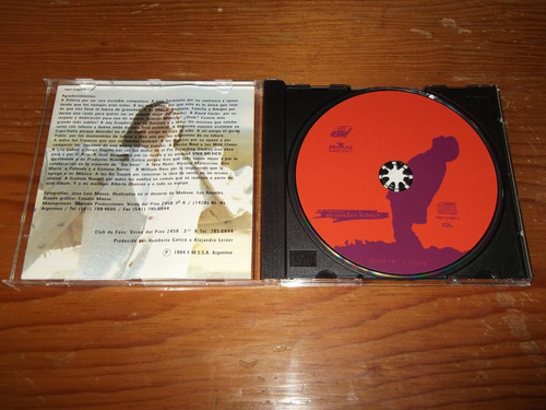 alejandro lerner - permiso de volar cd nac ed 1994 mdisk