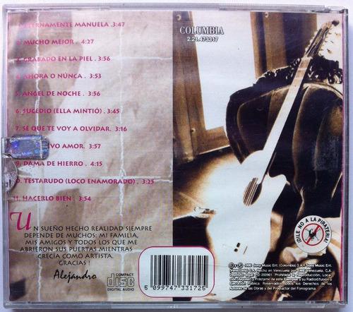 alejandro martinez. cd original, nuevo
