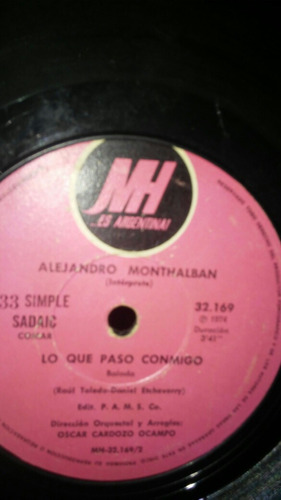 alejandro montalban simple en vinilo