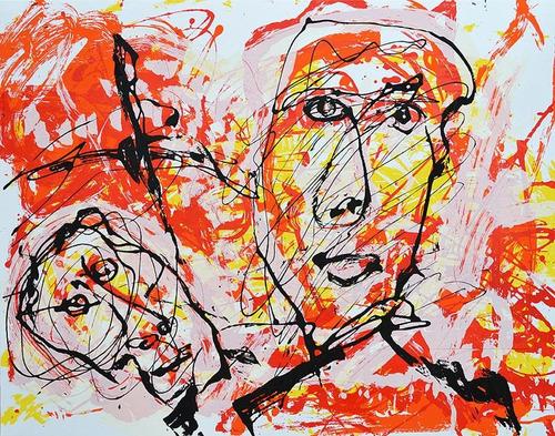alejandro santiago arte oaxaca grafica original serigrafia