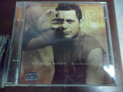 alejandro sanz cd no es lo mismo