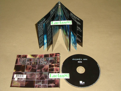 alejandro sanz mas 1997 wea cd