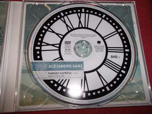 alejandro sanz - paraiso express 2 cd 1 dvd nac 2009 mdisk