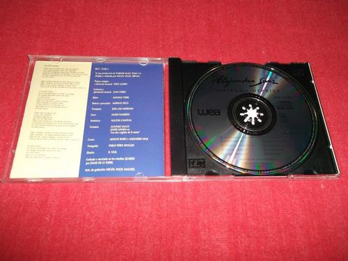 alejandro sanz - viviendo de prisa cd imp ed 1991 mdisk