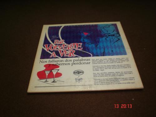 aleks syntek  -  cd single -  por volverte a ver   bim