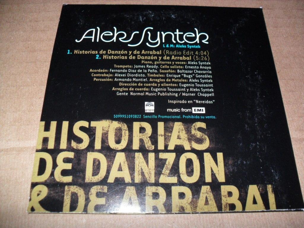 alex sintek historias de danzon y de arrabal