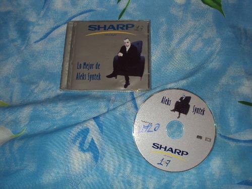 aleks syntek lo mejor cd raro promocional