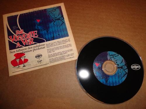 aleks syntek por volverte a ver cd sencillo promo muy raro