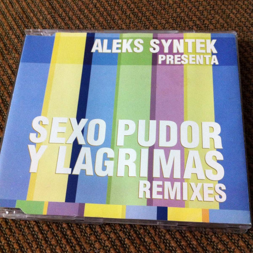 aleks syntek sexo pudor y lágrimas single perfecto estado