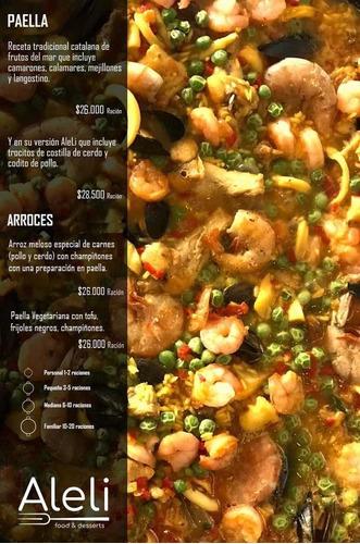 @aleli_foodanddesserts paella en tu casa!