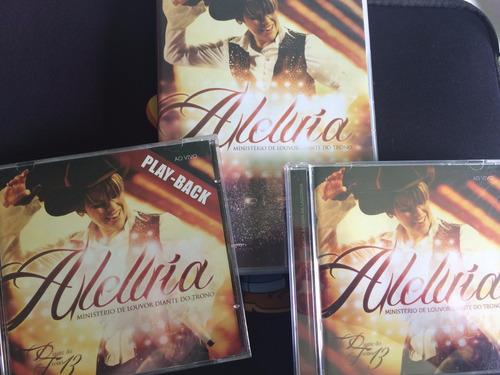 aleluia - diante do trono 13 dvd+ ao vivo+ play back