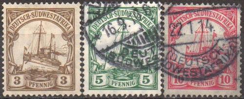 alemanha - áfrica ocidental - kaisers yacht - 1905 - mi24a26