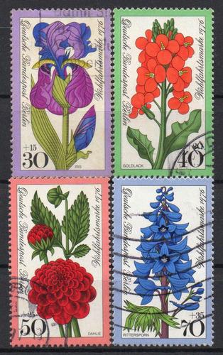 alemanha - berlim - flores - 1976 - s/completa