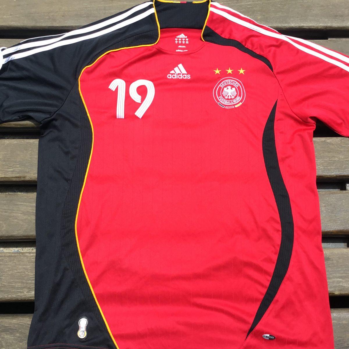 alemanha camisa futebol copa do mundo 2006 adidas com patch. Carregando  zoom. f951a45250671