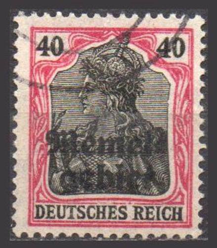 alemanha - memelgebiet - germania - 1920 - mi 6