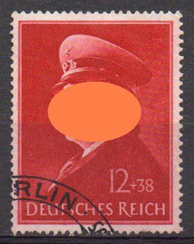 alemanha (r) - 52º aniversário - 1941 - semi-postal - mi 772