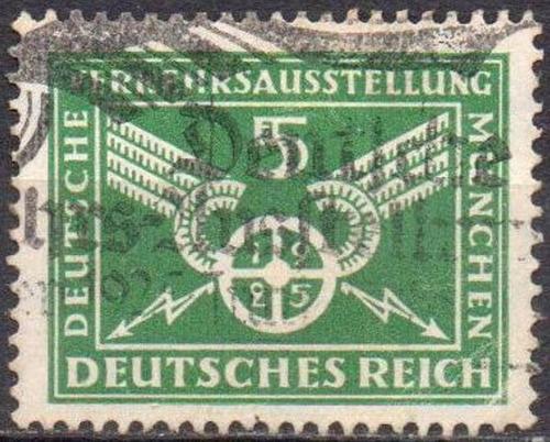 alemanha - weimar - exposição tráfego alemão - 1925 - mi 370