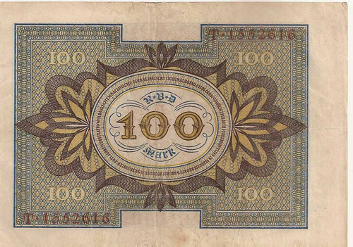 alemania 100 mark