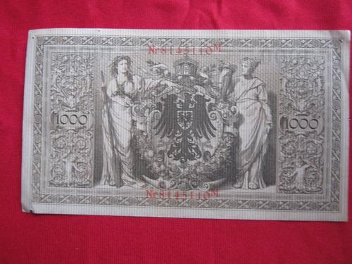 alemania 1000 marcos 1910