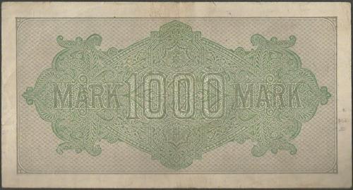 alemania 1000 mark 15 sep 1922 p76c