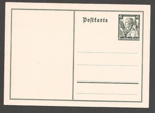 alemania 1936 postkarte juventudes del r nueva - 253