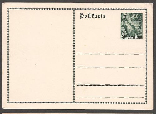 alemania 1937 postkarte nueva triunfadores - 183