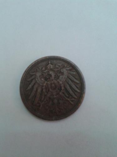 alemania 2 pfennig cobre 1907 a