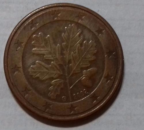 alemania 2002 moneda de 5 céntimos de euro letra g