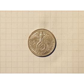 Alemania 2da Guerra Mundial 2 Reichmark 1939 A Plata Excelen