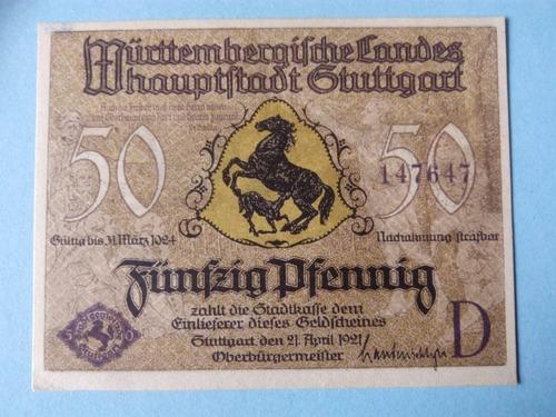 alemania billete de 1921 - excelente condicion