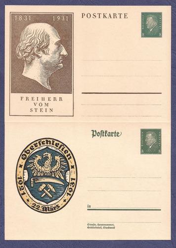 alemania cuatro postkarte nuevas ---- super oferta!!!!!