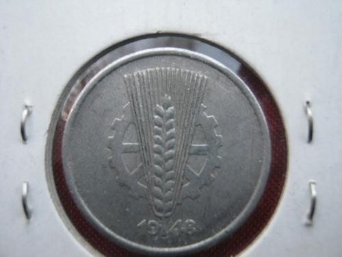 alemania democratica 10 pfennig 1948 19 dolares catalogo