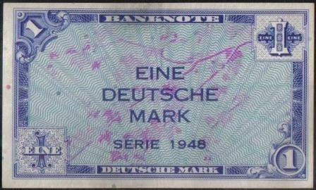 alemania federal 1 mark 1948 p2a