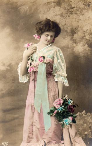 alemania imperial 1900 bonita postkarte desde ostritz - 035