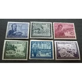 Alemania Nazi : Aniv Del Servicio Postal, 1944 Op4