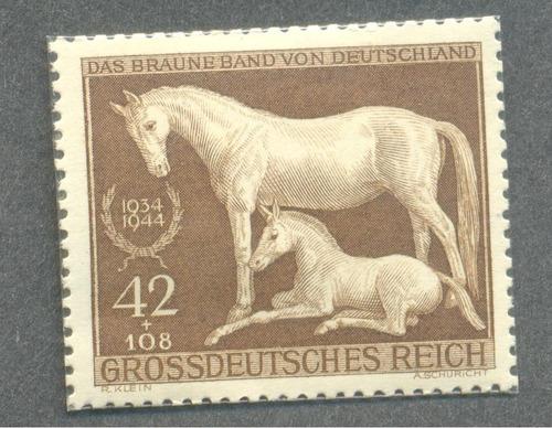 alemania nazi banda marron caballos 2da guerra mundial