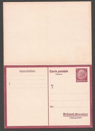 alemania postkarte nueva retorno pago a brüssel - 051