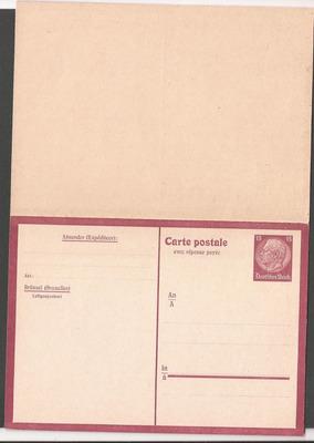 alemania postkarte nueva retorno pago a brüssel - 080