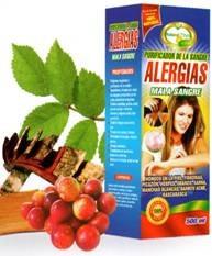 alergias natural plus cap x 100 etx por 500ml