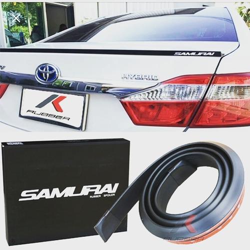 aleron lip maleta spoiler samurai auto universal tuning