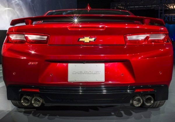 Aleron Spoiler Chevrolet Camaro Ss Cola De Pato D Nq Np Mlm F