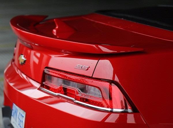 Aleron Spoiler Chevrolet Camaro Zl1 Ss 2014 2015