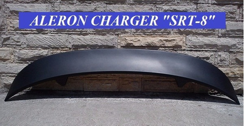 aleron spoiler dodge charger 2006 - 2010 srt-8 rt super bee