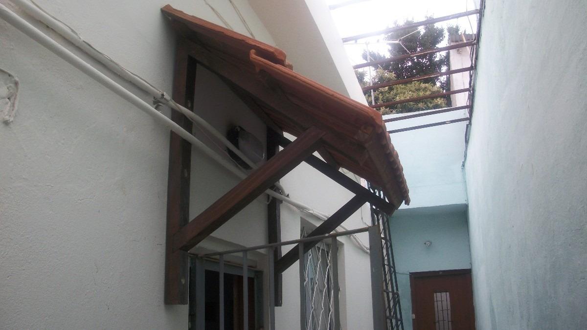 Aleros con mensulas madera o hierro teja o imitacion - Chapa imitacion teja ...