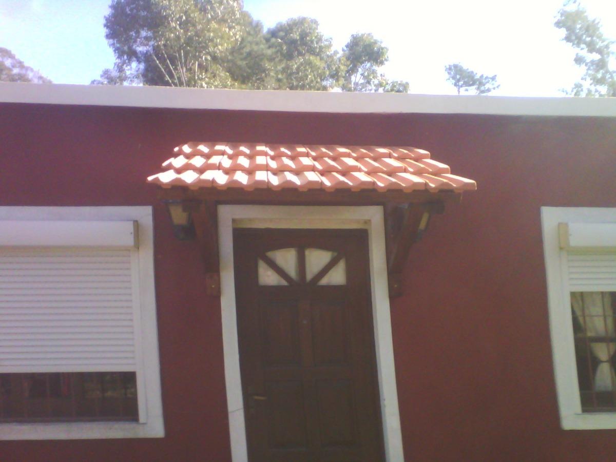 Aleros con mensulas madera o hierro teja o imitacion for Chapa imitacion teja sin aislamiento